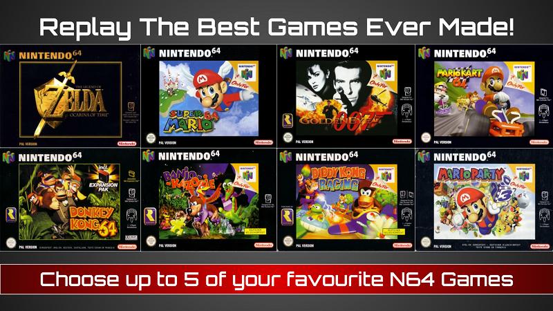 N64 Rental Delivered Ireland Games