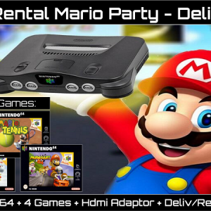 N64 Rental Mario Party Delivered Ireland