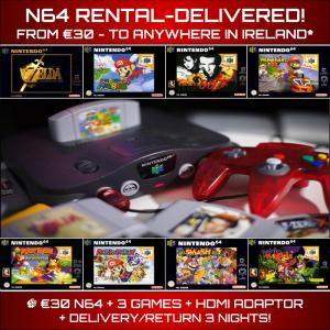N64 Rental Delivered Ireland